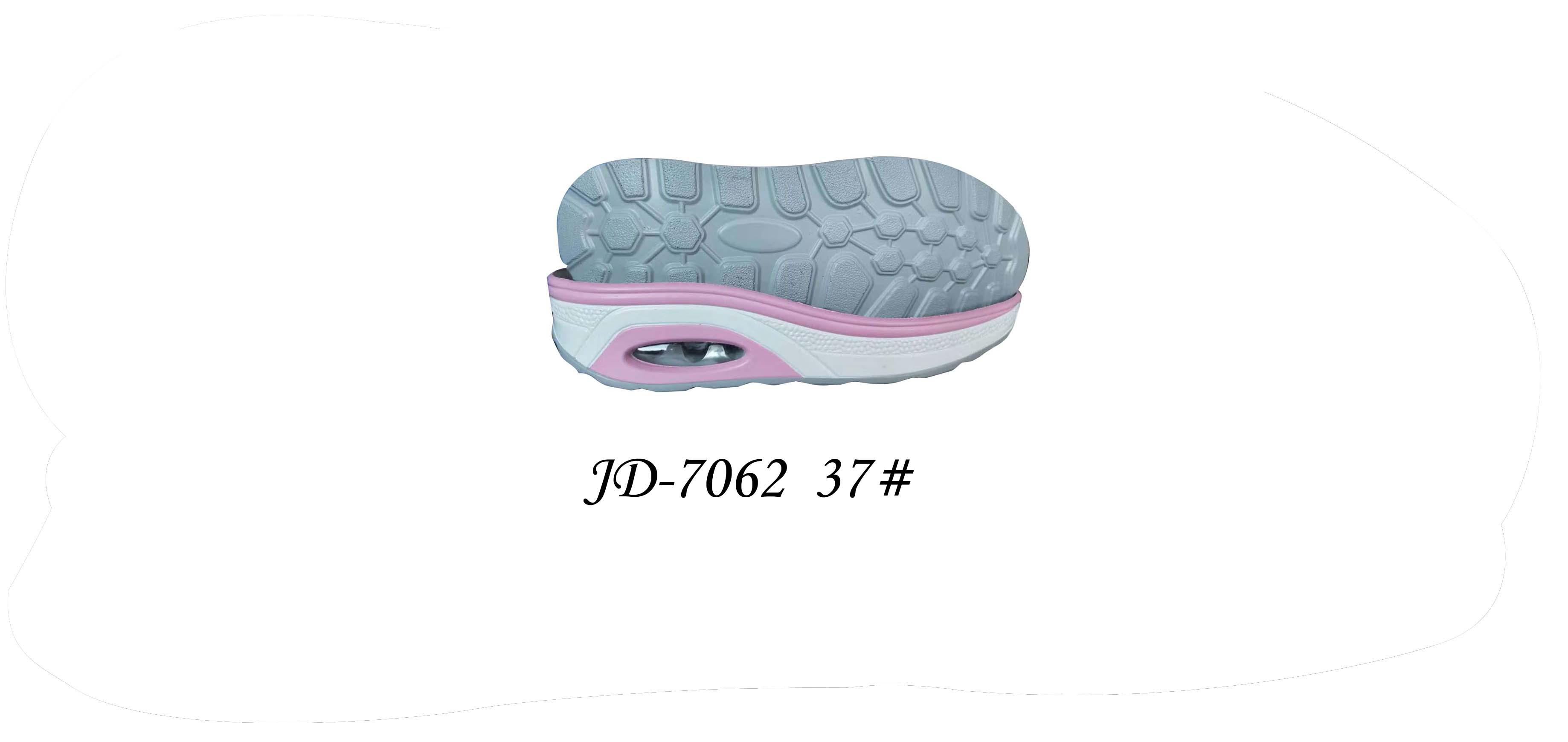 鞋底 PU 女段 休闲鞋 双色 三色 37 一体 JD-7062