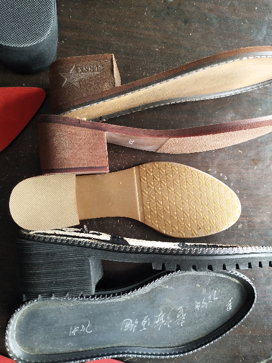 鞋底 EVA TPR TR PU 橡胶 女段 35一40 时装女鞋 双色 多色 单色 组合底