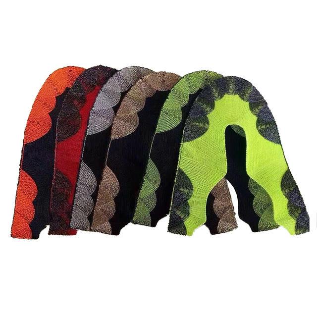 布料 一针一线3d鞋面 三色 涤棉 涤纶 锦纶 3D 飞织 4D 绣花