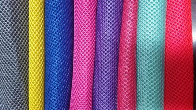 网布 单色 双色 三色 多色 染色 印花 色织 提花 压花 3D 4D 三层网 单层网