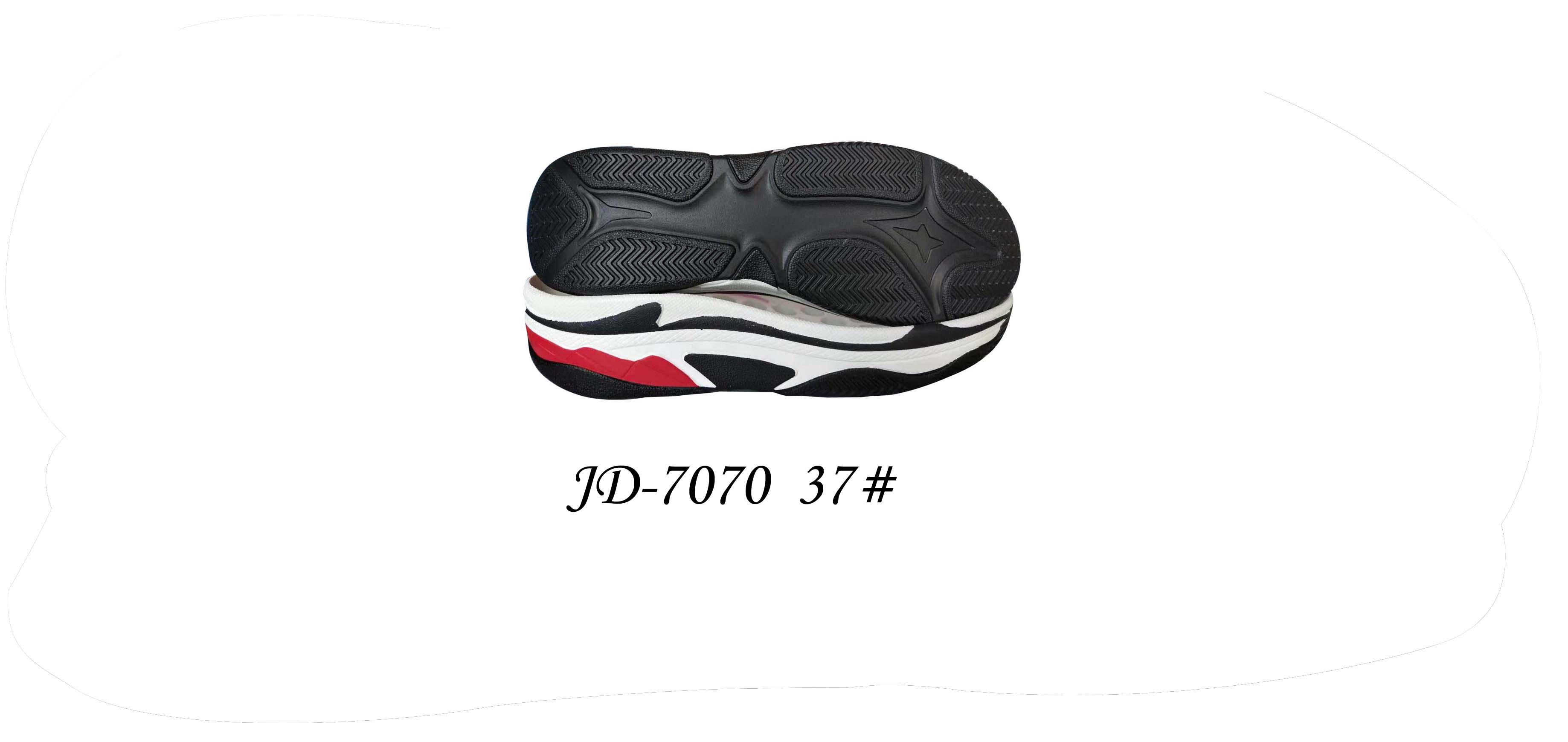 鞋底 PU 女段 休闲鞋 三色 37 一体 JD-7070