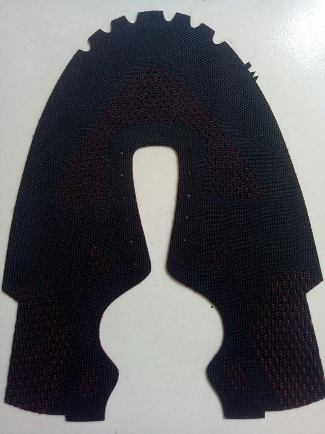 布料 一针一线3d鞋面 涤纶