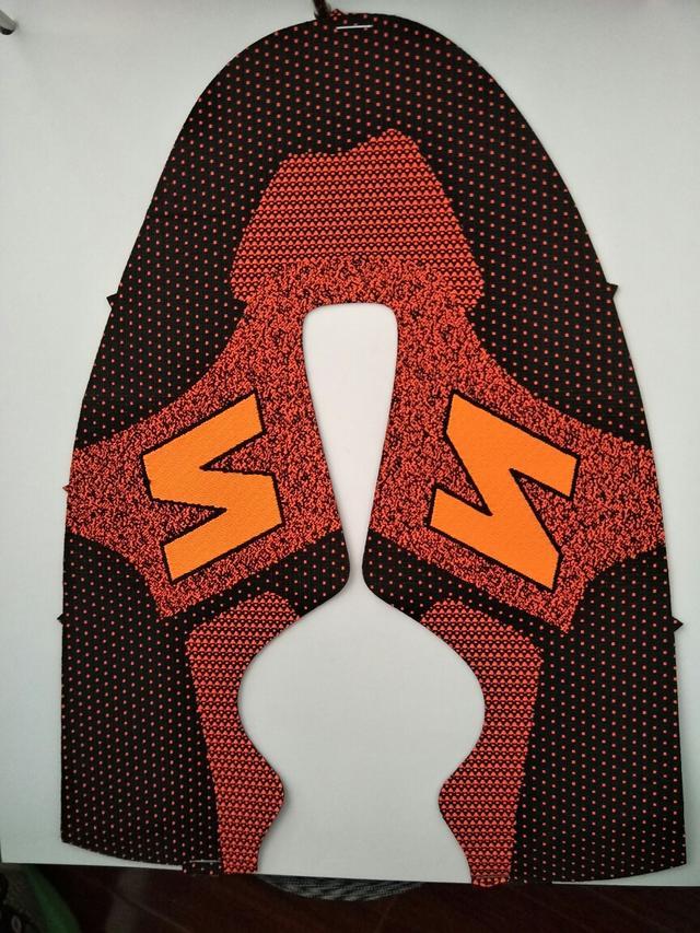 布料 多色 涤纶 混纺 色织 提花 鞋面 特种飞织鞋面