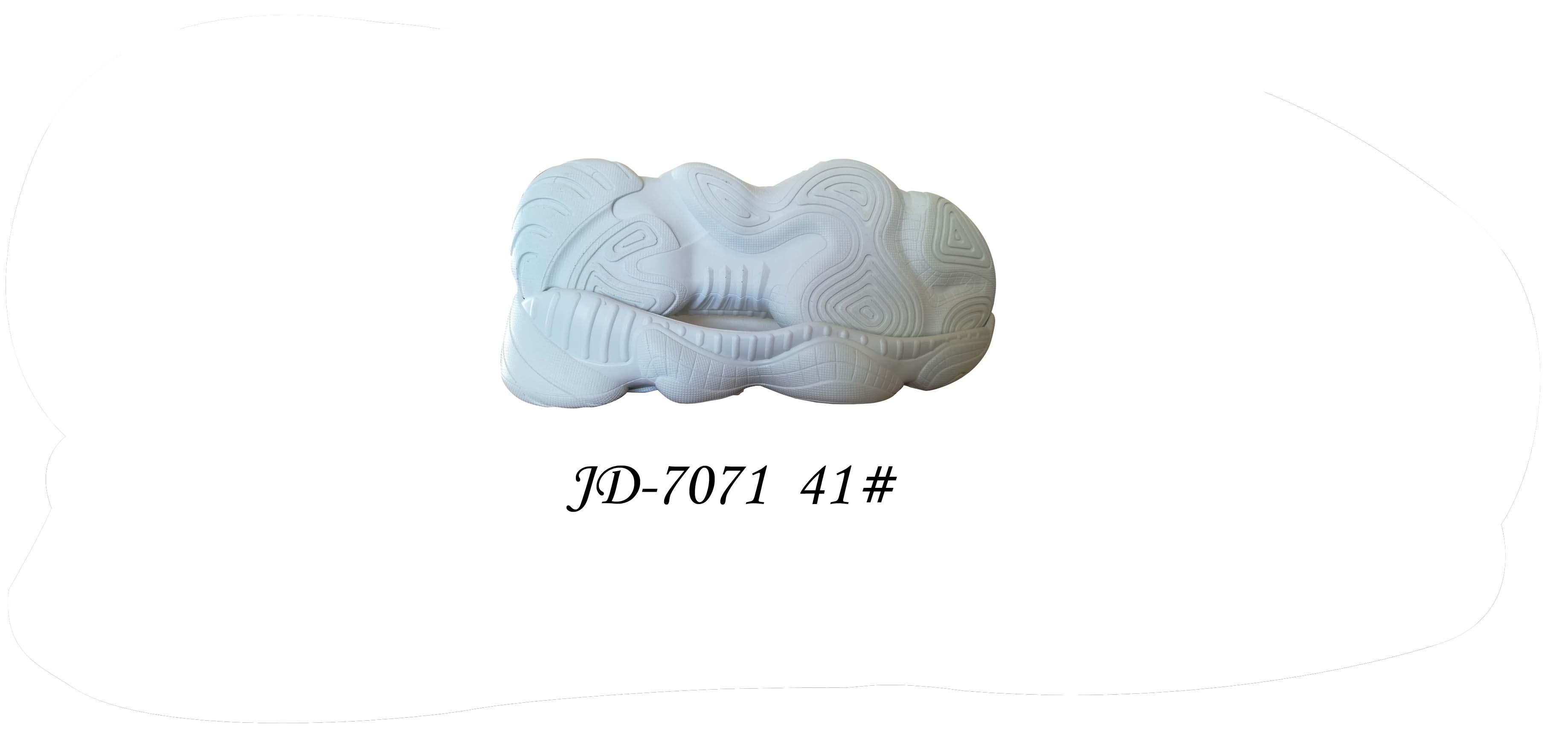 鞋底 PU 男段 休闲鞋 41 单色 一体 JD-7071