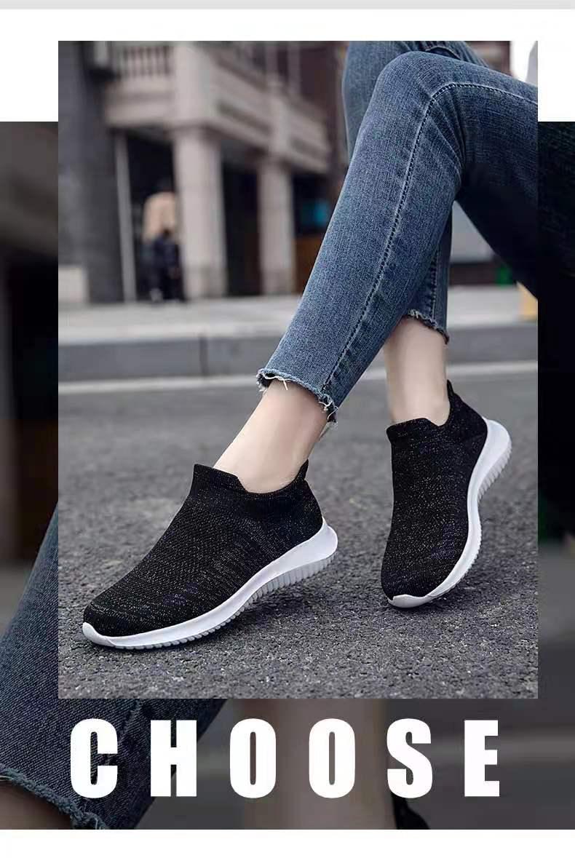 成品鞋 休闲鞋 飞织女鞋