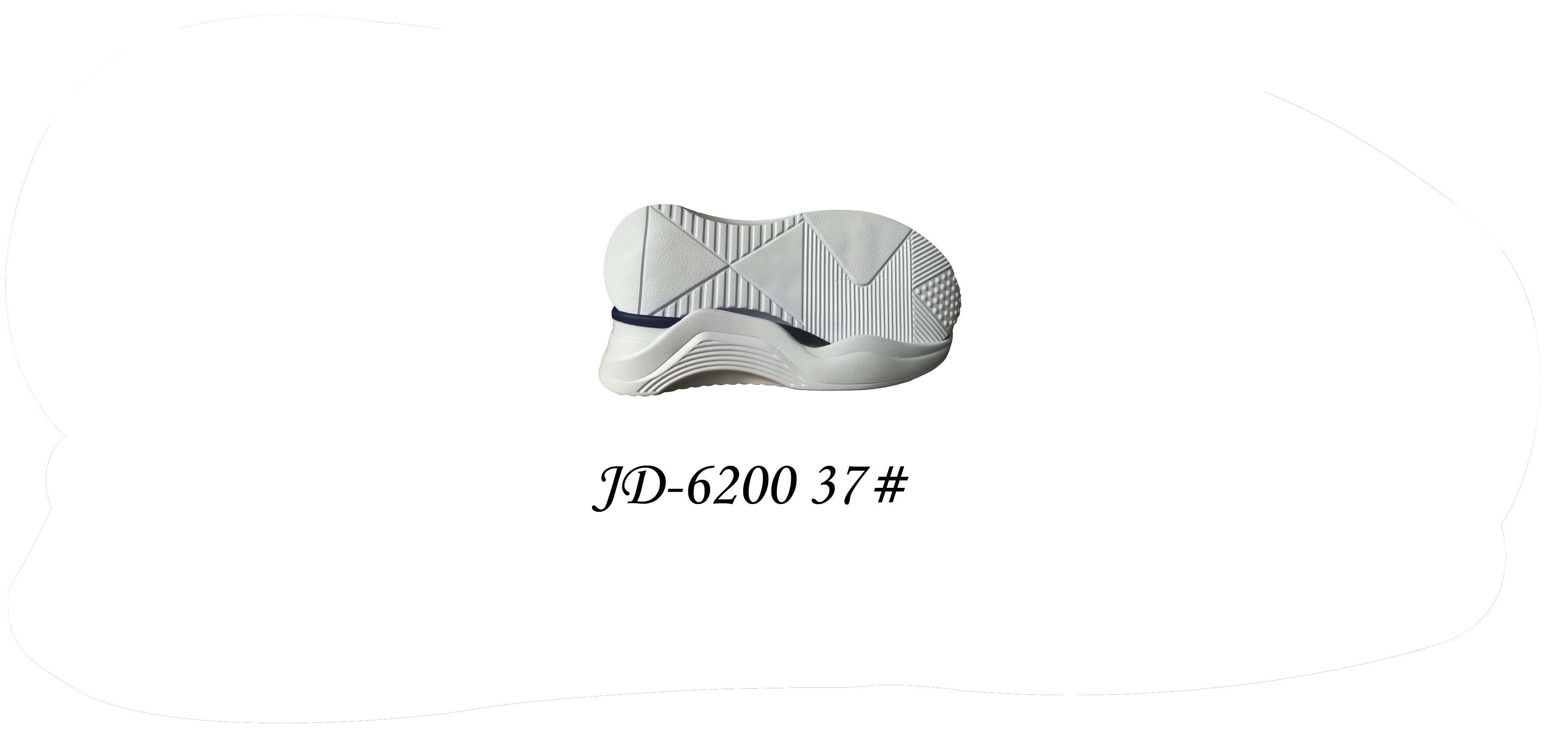 鞋底 PU 女段 休闲鞋 三色 双色 37 一体 JD-6200
