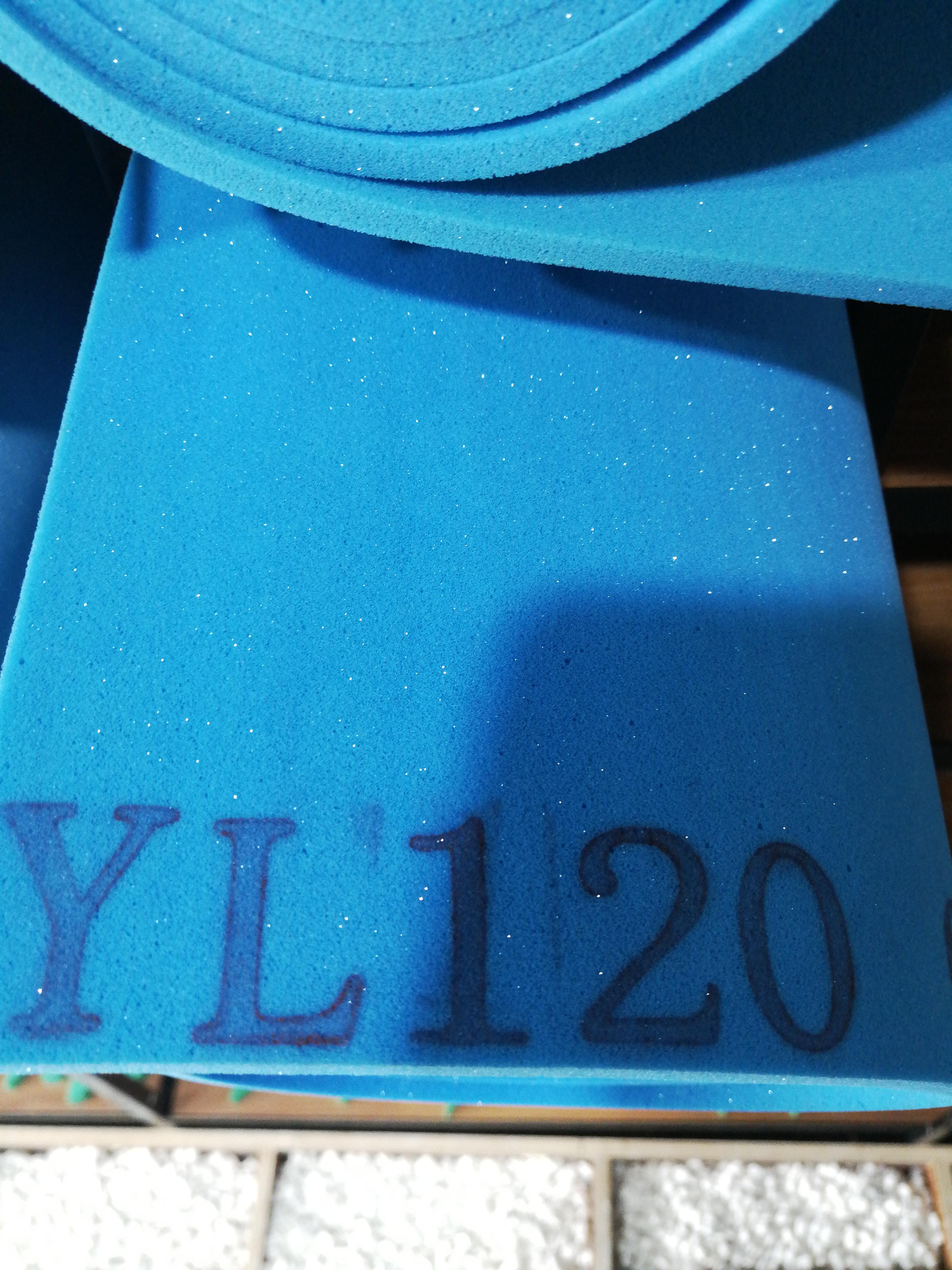 制鞋辅料 海绵 YL120深蓝色大力绵